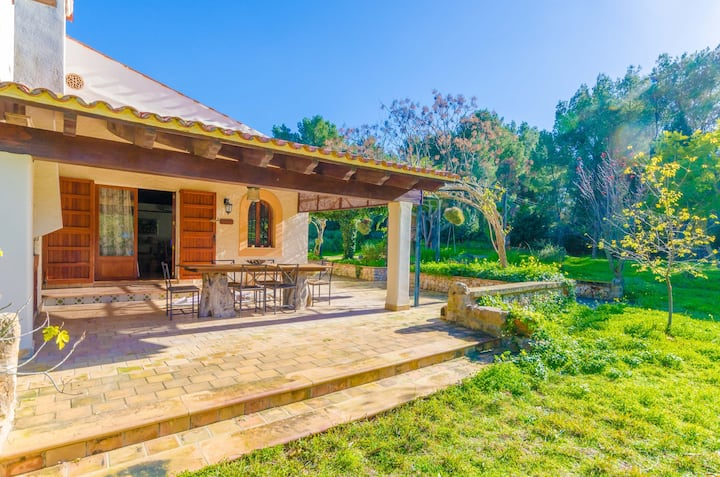 CAN CAPULLA 8 - Chalet with private garden in Ses Covetes.