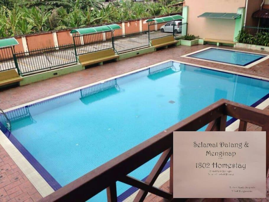 Free pool usage until 10pm everyday.