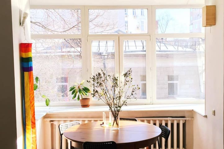 Atmospheric home in the very center - Moskva - Daire
