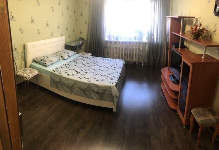 Чистая квартира в тихом месте! Будьте как дома!
