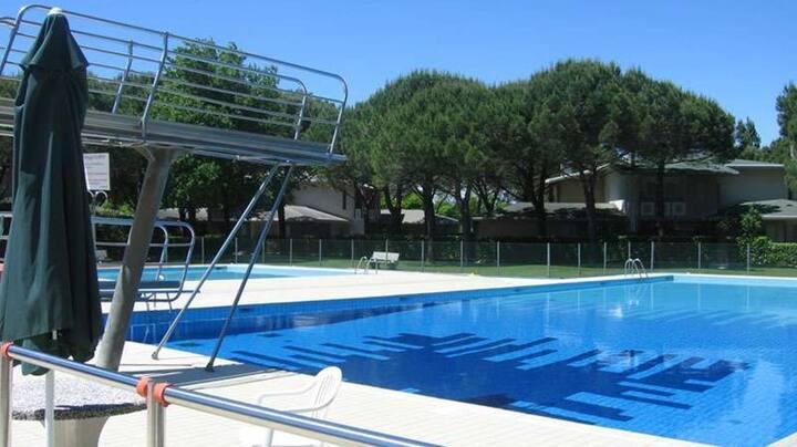 Villetta con piscina a Bibione