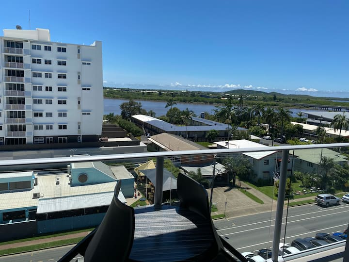 Views to the Pioneer River Dual Key Rooms