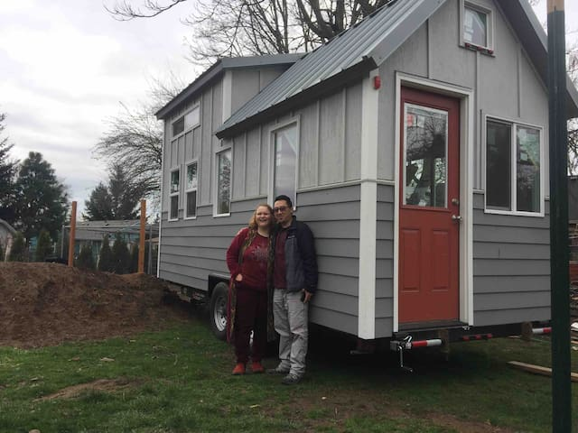 Pumpkin Spice Urban EcoVillage Tiny House