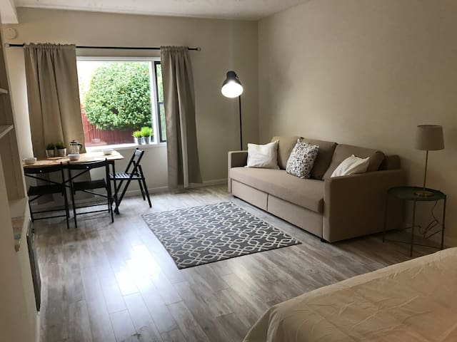 Cozy Marina Apt with Large Private Backyard