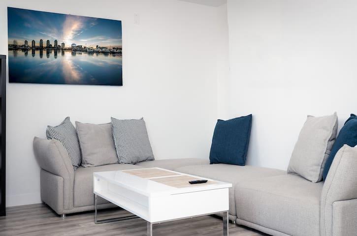 Top Floor Suite with Ocean View in Gastown