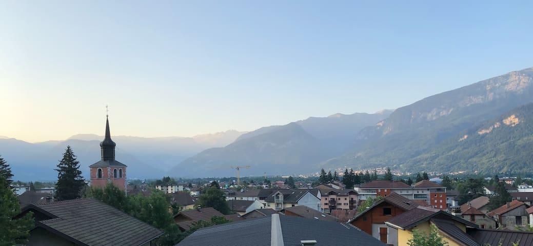 Appartement vue sur les montagnes