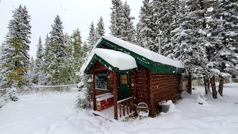 Private Log Cabin in Bragg Creek, Calgary, Canada