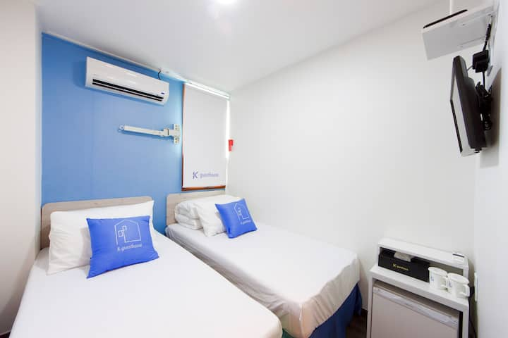 K-Guesthouse Dongdaemun - Standard Twin 1