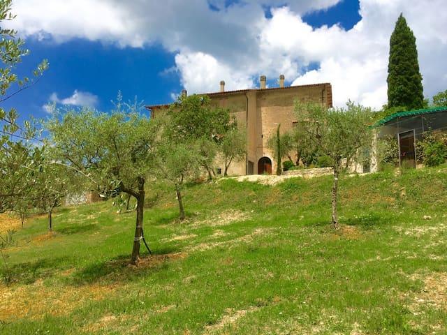Rock Pool Cottage/sleeps 8/Spoleto centro - 12 kms - Fogliano - House