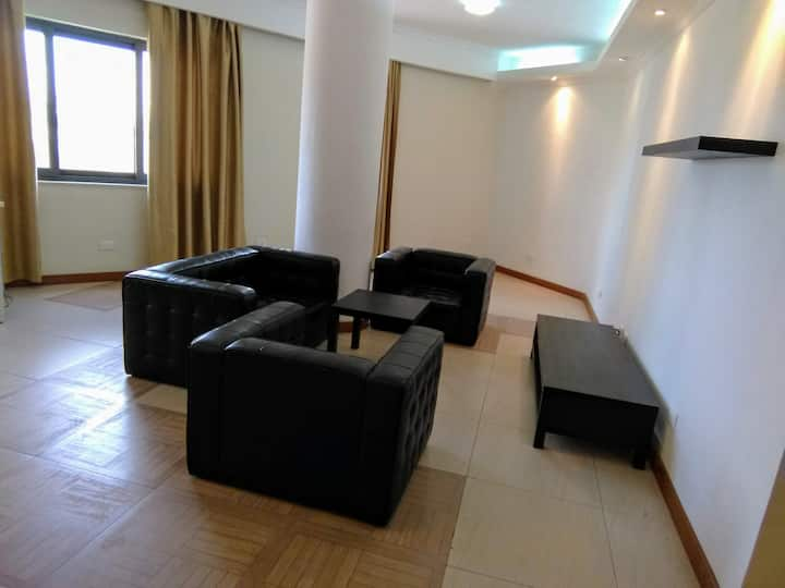 Bright and Spacious 2 bedroom apt central location