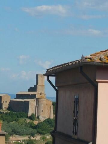 Appartamento con vista San Pietro - Tuscania - Apartemen