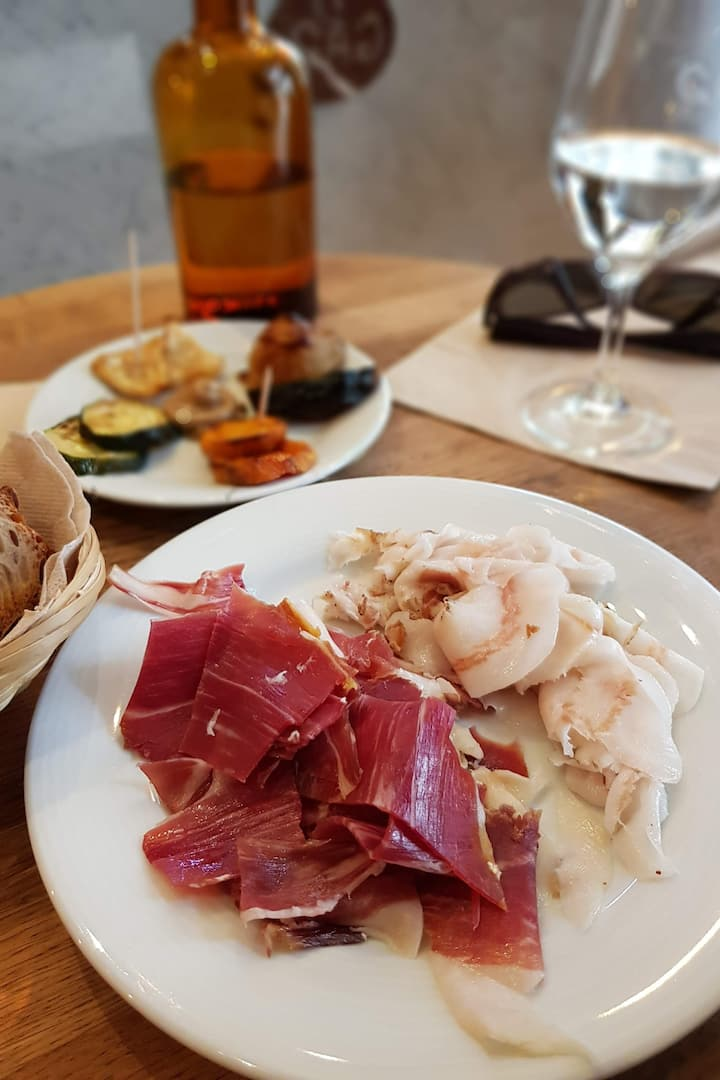 Delicious French cold cuts
