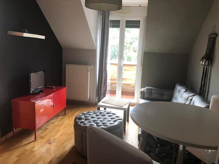 Acogedor apartamento semi nuevo en sama de Langreo