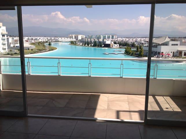 Apartamento con vista a la laguna - Metepec - Appartamento