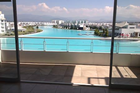 Apartamento con vista a la laguna - Metepec