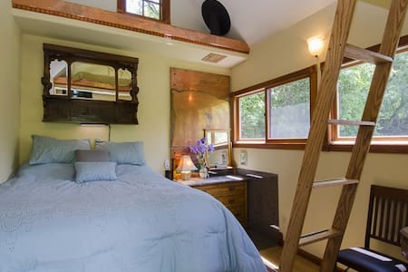 The Doll House.Compact,sunny,cute,quiet,in nature. - Carbondale - Cabana