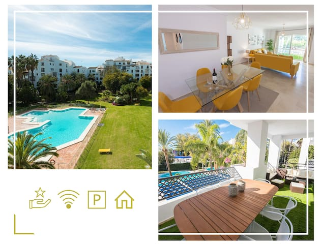 Modern / Quiet 3 BDRS flat in the heart of P.Banus