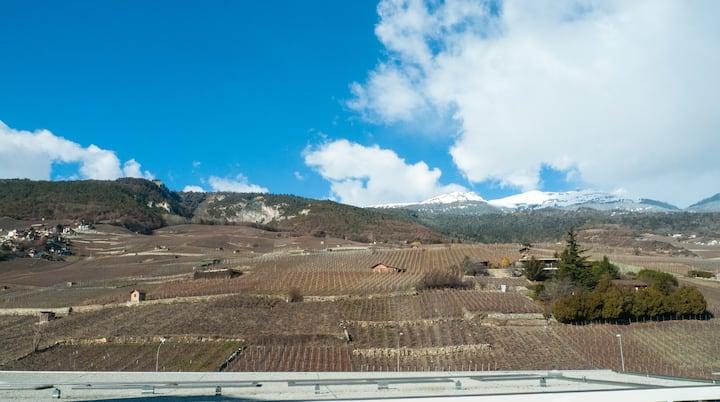 Attique au coeur des Alpes 2 terrasses et vue 6-7p