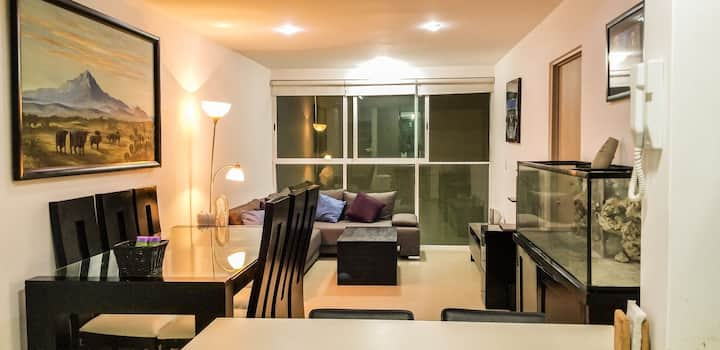 Apartment 10 min from airport, 5 walking to subway