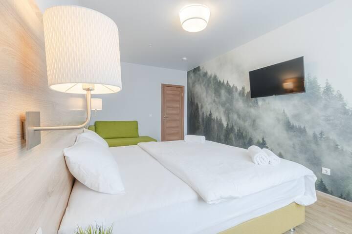 Четырехместные апартаменты от Гостиниц net