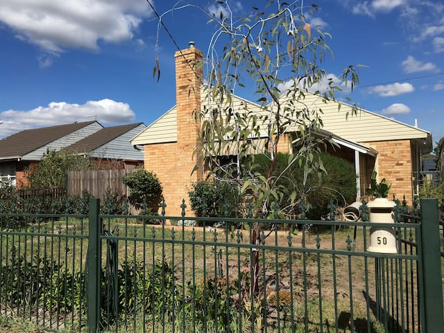 Rennovated Spacious double bedroom - Heidelberg West - Casa