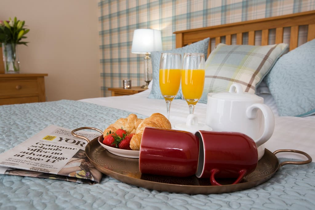 Breakfast in bed?