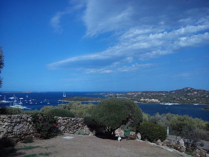Vista panoramica su Costa Smeralda