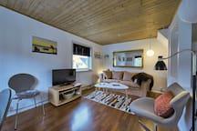 Sofa area in the livingroom