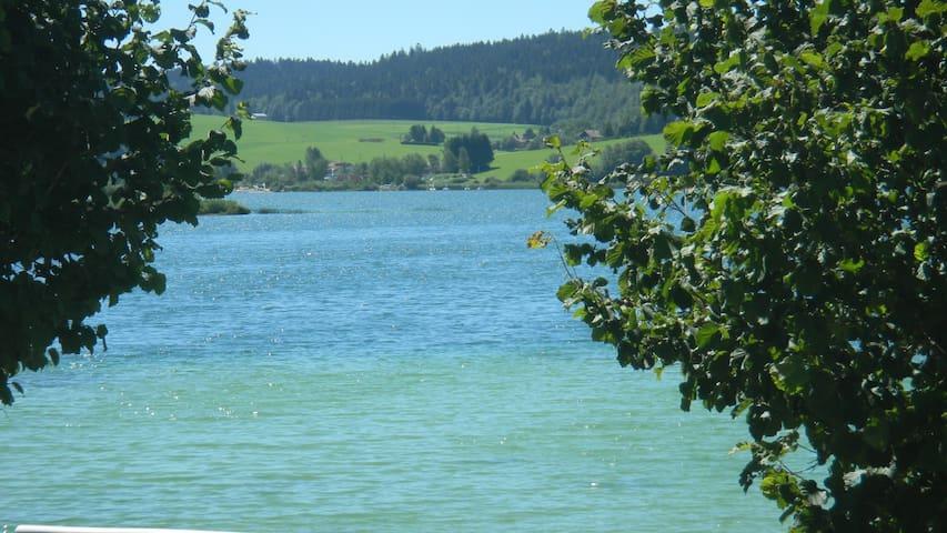 Lac Saint Point en été