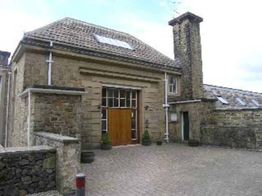 LadyBower Lodge Secure Entry
