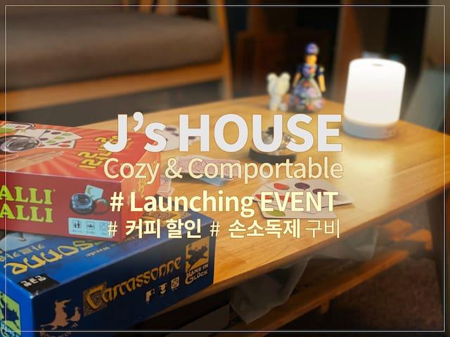 J's Cozy & Comportable House
