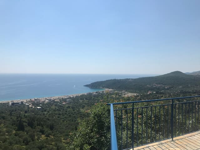 A Room with Spectacular View near Livadhi Beach 2