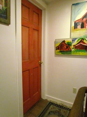 Red door to Steps III