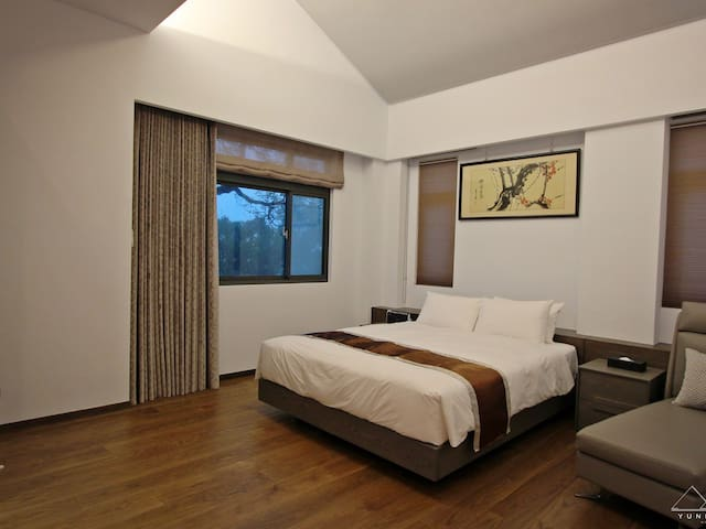 雲頂Villa景觀雙人房 Yunding Deluxe Double room  A203 - Wanli District