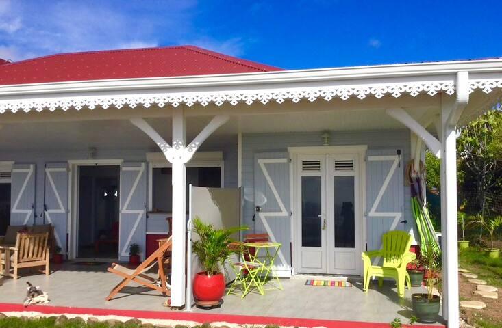 Studio neuf, piscine, vue mer & plage Cap Macré