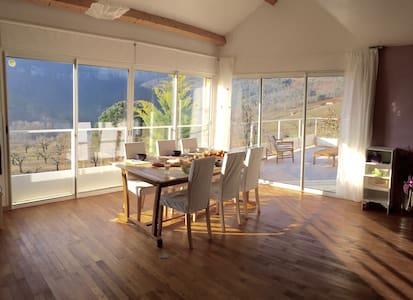 Logement 100 m2, moderne & lumineux Gorges du Tarn - Rivière-sur-Tarn - Appartement