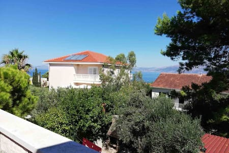 Cosy house with 5 bedrooms, 200m to the beach