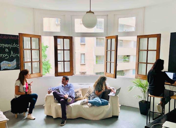 ilVero Hostel Recoleta- Habitación 4 pasajeros