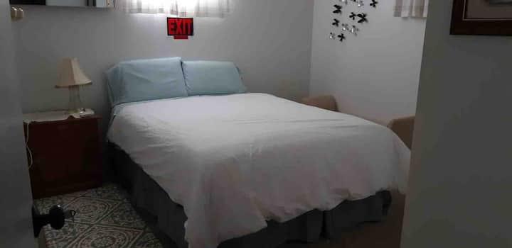 Cozy one bedroom suite in basement