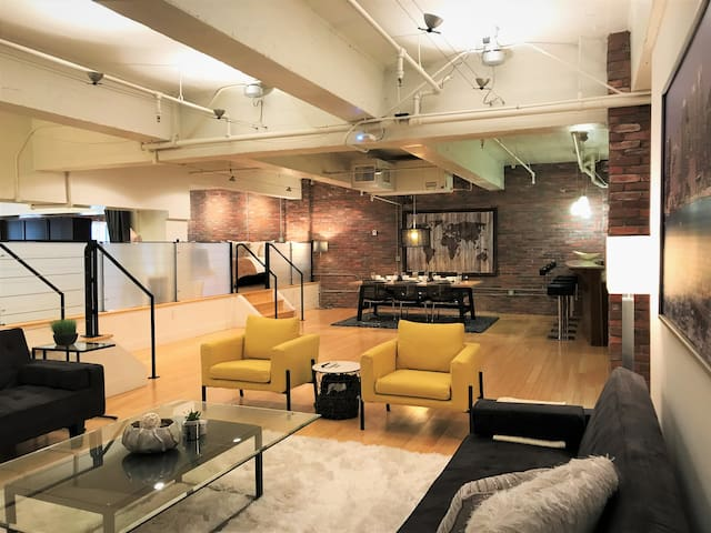Luxury gaslamp loft huge modern and clean lofts en - Loft industriel san diego californie ...