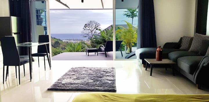 Karon Sea View - Pool Apartment - Groundfloor