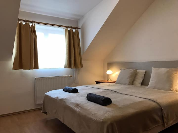 Cozy room near to the historical square