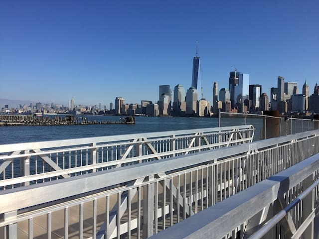 Large 1 Bedroom, Paulus Hook, Jersey city - Jersey City - Appartement