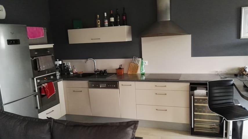 appartement tout équipée idéalement situé - Joué-lès-Tours - Lägenhet