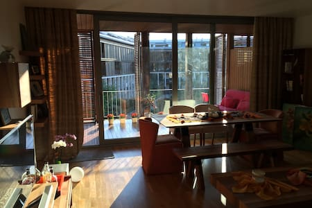 Large 1 bedroom apartment with gorgeous terrace. - Eyüp - Byt