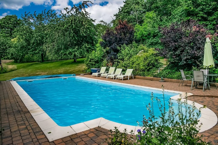 Delightful Holiday Home in Aubel Ardennes,Private Pool/Sauna