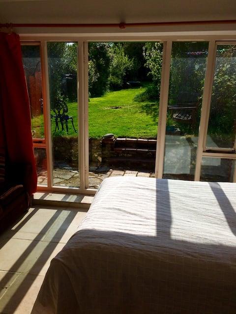 Beautiful sunny garden room