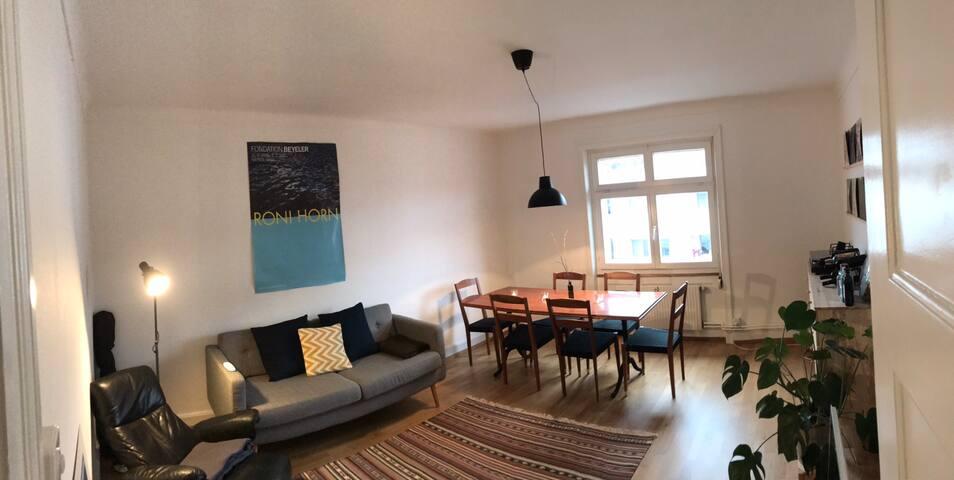 Charmante + zentrale 3-Zimmerwohnung in Kleinbasel