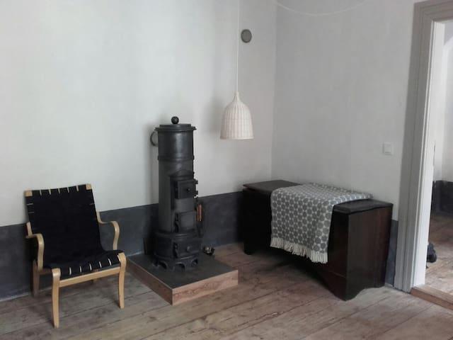 Ferienwohnung mit Ofen in Stralsund - Stralsund - Wohnung