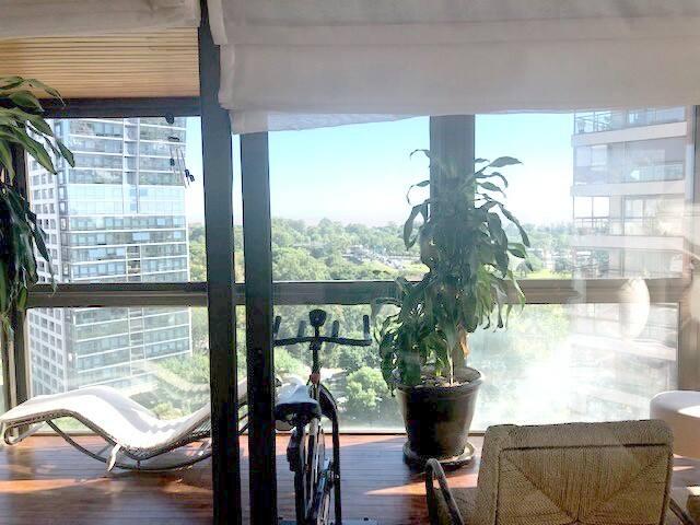 Apartamento de 3 dorm con vista al río en Belgrano
